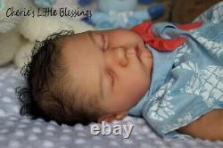 CHERIE'S LITTLE BLESSINGSReborn DollReborn BabyEthnicWILLACassie Brace