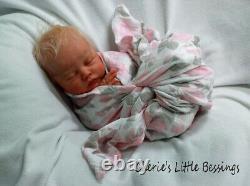 CHERIE'S LITTLE BLESSINGSReborn DollReborn BabyGirlDELILAHNikki Johnston
