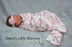 CHERIE'S LITTLE BLESSINGSReborn DollReborn BabyNEWBORNREALBORNSummer Rain