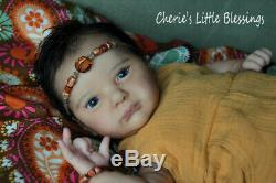 CHERIE'S LITTLE BLESSINGSRebornDollBabySOLEMulti-racialAURORA SKYEAGLES