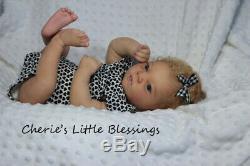 CHERIE'S LITTLE BLESSINGSRebornDollEthnicBiracialRealbornJOHANNAH AWAKE