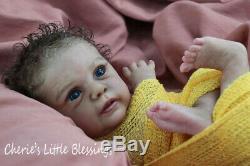 CHERIE'S LITTLE BLESSINGSRebornDollNewbornBabyBOYMIKAGudrun Legler