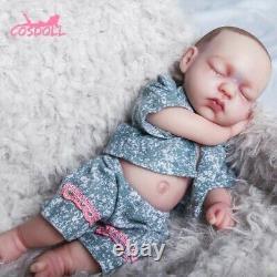 COSDOLL FULL BODY SILICONE REBORN SOFT BALD DOLL BABY 31cm REALISTIC LIFELIKE