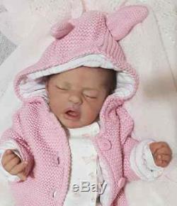 CUSTOM Love bug full bodied silicone by Sylvia manning not reborn doll