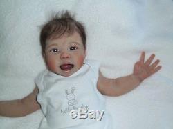 CUSTOM ORDER Baby Full Body Soft Solid Silicone Boy or Girl Reborn Doll Ecoflex