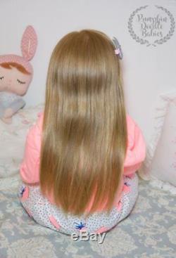 CUSTOM ORDER Lilly Reborn Doll Toddler Baby Girl Lily by Regina Swialkowski