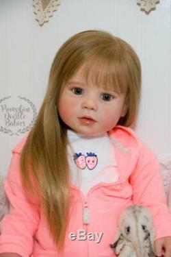 CUSTOM ORDER Lilly Reborn Doll Toddler Baby Girl Lily by Regina Swialkowski