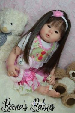 CUSTOM ORDER Reborn Baby Doll Toddler Girl Kana By Ping Lau
