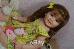 CUSTOM ORDER Reborn Cammi by Ping Lau Toddler Doll Boy or Girl Human Hair