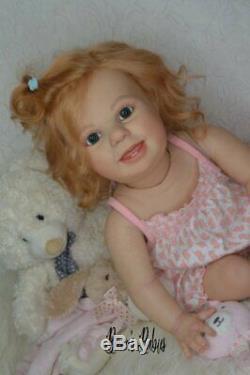 CUSTOM ORDER! Reborn Doll Baby Girl Crawling Toddler Amelia by Bountiful baby