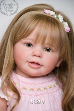 CUSTOM ORDER Reborn Doll Baby Girl Katie Marie by Ann Timmerman Toddler