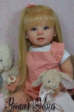 CUSTOM ORDER Reborn Doll Standing Toddler Bonnie by Linda Murray