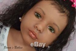 CUSTOM ORDER Reborn Doll Toddler Child Aloenka by Natali Blick