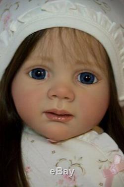 CUSTOM ORDER Reborn Toddler Doll Baby Girl Fritzi Karola Wegerich Sis 2 Fridolin