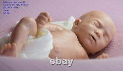 CUSTOM ORDER Silicone baby doll full body Sira reborn sweet chocolates