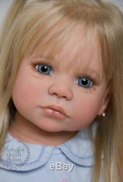 CUSTOM ORDER reborn doll baby girl Gabriella by Regina Swialkowski small toddler