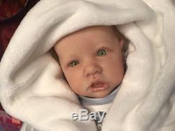 CUTE Reborn Baby Doll Saskia By Bonnie Brown! Must See This Cutie
