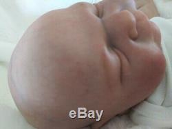 Cassie Brace Ramsey Reborn Sleeping Baby Doll 18 Tall