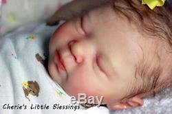 Cherie's Little BlessingsReborn DollBabyGirlNEW RELEASELUCIANOCASSIE BRACE