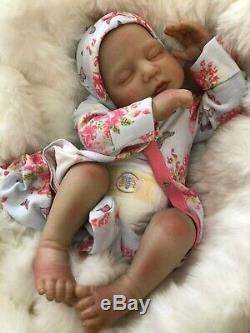 Cherish Dolls Anya Fully Reborned Baby Fake Babies Realistic 22 Big Reborn Girl