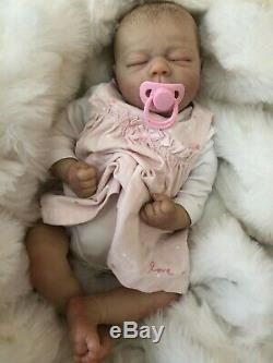 Cherish Dolls Bountiful Baby Realborn Brooklyn Reborn Doll Baby Girl 20 Hair