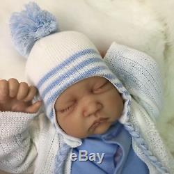 Cherish Dolls New Reborn Doll Baby Alfie Fake Babies Realistic 22 Newborn Boy