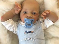 Cherish Dolls New Reborn Doll Baby Boy Jaidan Fake Babies Realistic 22 Newborn