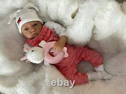 Cherish Dolls New Reborn Doll Baby Poppy Fake Babies Realistic 22 Newborn Girl