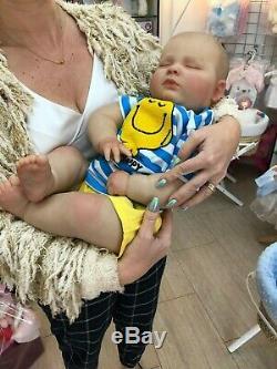 Cherish Dolls Realborn 3 Month Big Baby Joseph Reborn Doll Boy 23 9lb 4oz