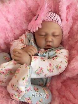 Cherish Dolls Reborn Doll Baby Girl Scarlett Realistic 18 Real Lifelike Childs