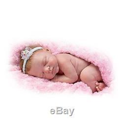 Collectible Premiere Reborn Baby Girl Doll Lifelike Newborn Handmade 12'