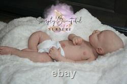 Custom MARSHMALLOW Platinum Silicone Full Body Baby Scout Boy OR Girl Available