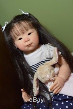 Custom Made Reborn Baby Doll Girl Standing Toddler Shoa by Adire Stoete