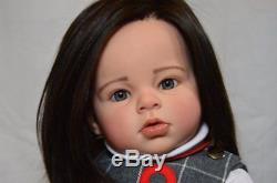 Custom Made- Reborn Doll Baby Girl Toddler Arianna By Reva Schick
