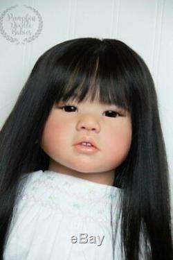 Custom Order Amaya by Conny Burke Asian Reborn Baby Doll Toddler New Release