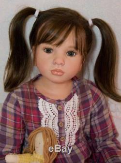 Custom Order Reborn Doll Baby Girl Toddler Child Size Aloenka by Natali Blick