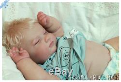 Custom Order for Reborn Baby Joseph 3 Months Girl or Boy Doll
