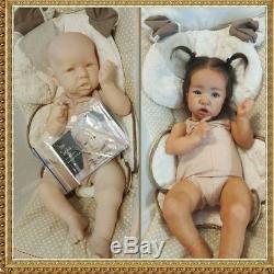 Custom Order for Reborn Saskia Bonnie Brown Baby Girl or Boy Doll