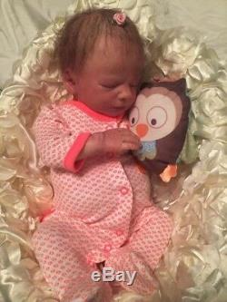 Custom Reborn Baby Doll BOUNTIIFUL CLYDE ASLEEP KIT