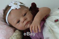 Custom Reborn Baby It's a Girl or It's a Boy open or close eyes
