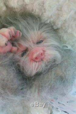 Custom made to order Lucien Were wolf pup reborn fantasy horror baby doll