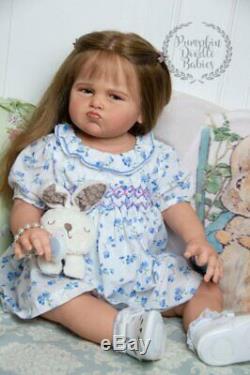 Custom order Grumpy Grace by Ping Lau Reborn Doll Baby Girl or Boy