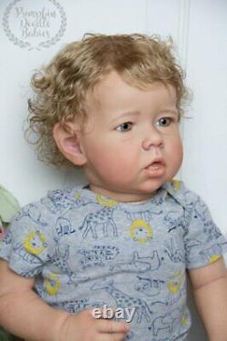 Custom order Liam by Bonnie Brown 28 Toddler Reborn Doll baby boy or girl
