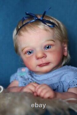 Cuty reborn girl Felicia by Gudrun LeglerGolden Babies Nurseryrealisticlimit