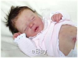 Darren as a girl reborned by sugar plum nursery reborn doll baby, new photos