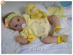 Deposit for Custom Order for Reborn Noah Awake Baby Girl or Boy Doll