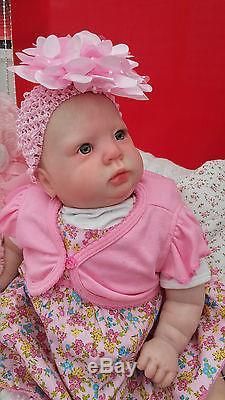 Donna Rubert Sunbeambabies Realistic Chunky 7lbs Reborn Toddler Baby Doll 24