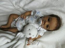ETHNIC Reborn Doll CHRIS by BRIT KLINGER Baby Boy- VICTORIA GOLDA