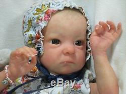 EXQUISITE REALISM Reborn 1st ED TINK BONNIE BROWN Baby Doll JACALYN CASSIDY