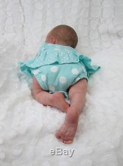 EXQUISITE REALISM Reborn REALBORN ASHLEY Baby Girl Doll BY JACALYN CASSIDY